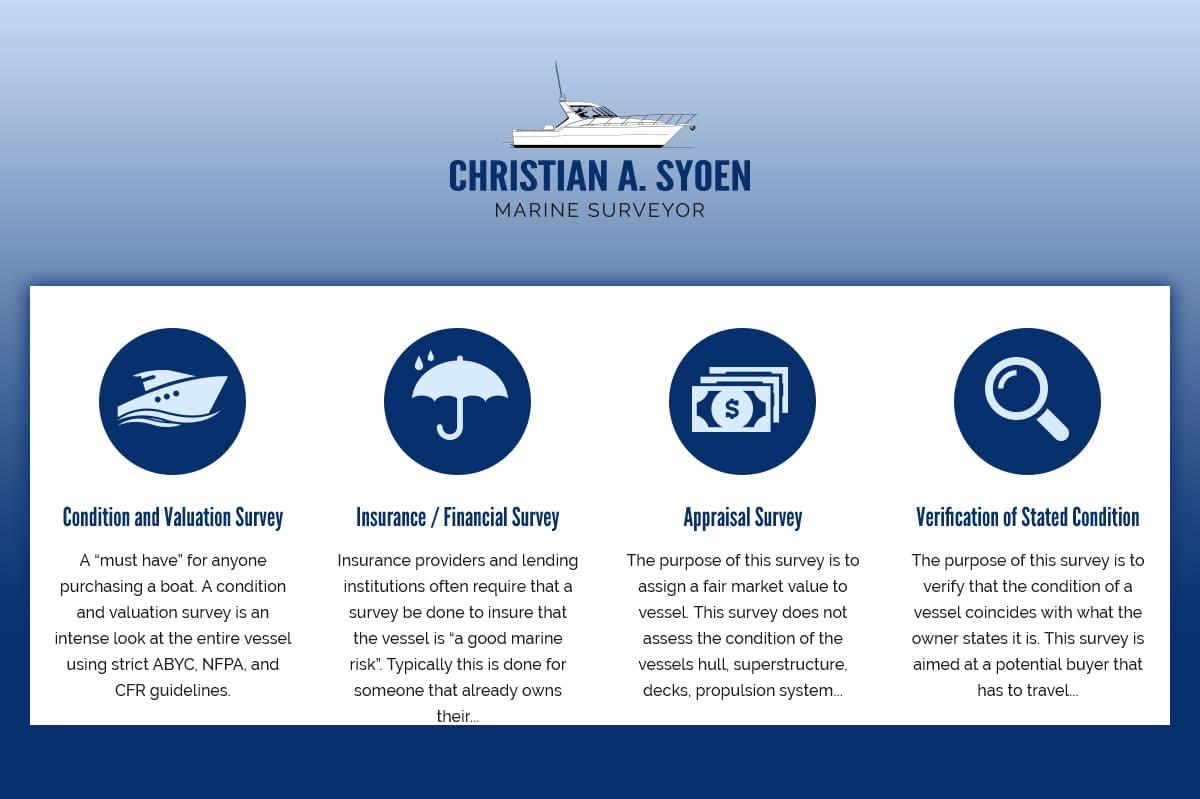 The 4 Marine Survey Options We Provide